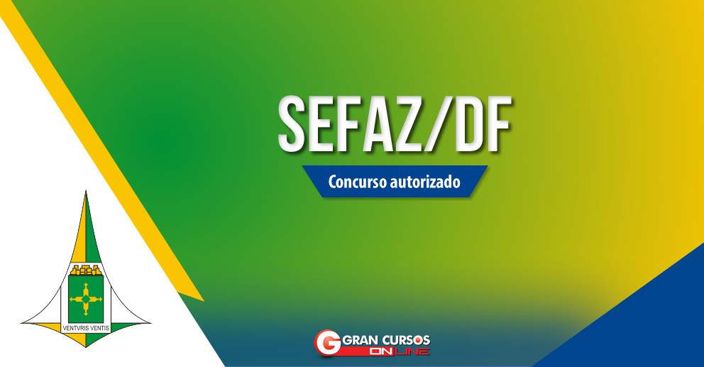 Concurso Sefaz/DF - Auditor