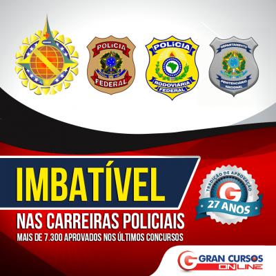 carreiras policiais min 400x400 - Concurso PMTO: Inscrições encerram hoje (09/02) para 1.040 vagas para Soldado e Oficial