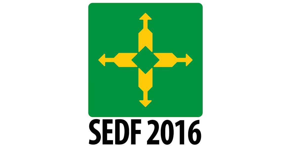 Concurso SEDF - Nível médio 2016