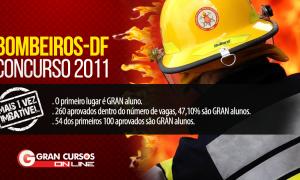 Concurso CBMDF 2011: 47,10% dos aprovados – incluindo o 1º lugar!