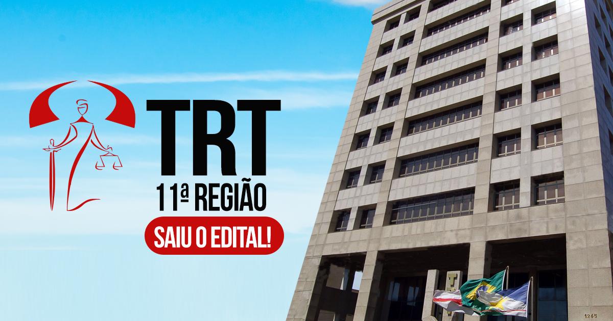Edital TRT 11