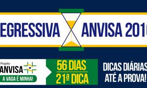 Concurso Anvisa – Regressiva: dica gratuita de Informática!