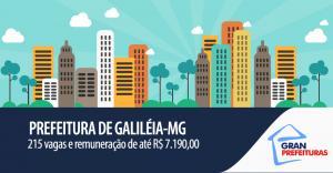 Concurso prefeitura galiléia