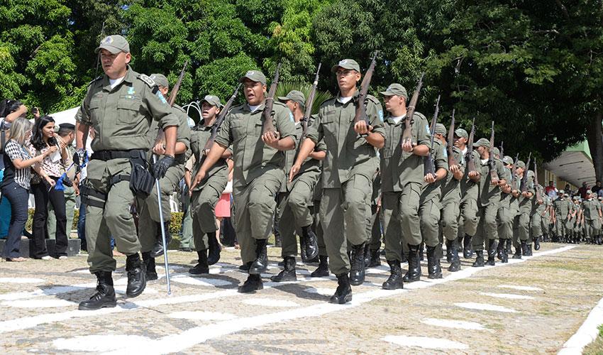 Policiais que passaram no concurso PM PI