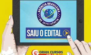 Concurso Abin: ANÁLISE do edital publicado e material GRÁTIS!