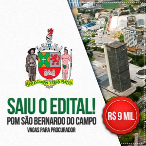 127bfa73d678 Concurso PGM São Bernardo do Campo: Edital publicado oferta vagas de ...
