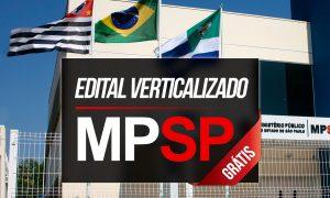 Concurso MP SP: organize seus estudos com o edital verticalizado do Gran Cursos Online!