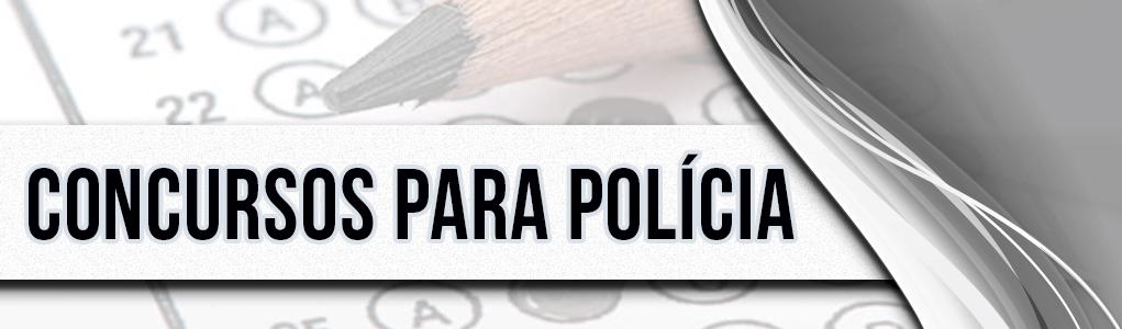 Concursos para polícia