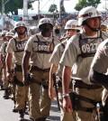 Concursados da Polícia Militar da Bahia, que promove o Concurso PM BA